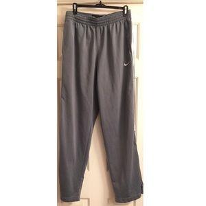 Nike Basketball Warmups w/Zippered Pant Leg Medium